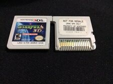 Starfox 64 3D Nintendo 3DS Cart Not for Resale NFR Star Fox Cartridge Ntsc DEMO