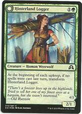 1x Foil Hinterland Logger Magic the Gathering MTG Shadows Over Innistrad