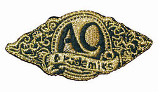 A9 Gold Iron on Embroidered Sew Patch Badge Patches Crafts Lots of designs  #154