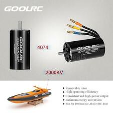 Original GoolRC 4074 2000KV 4 Poles Brushless Sensorless Motor for RC Boat E2V5