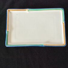 """VTG JAPANESE ASIAN Porcelain JEWELRY VANITY TRAY1 Sold Indiv, 2 Avail  8.5""""X5.5"""""""