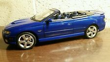 GMP ACME 1:18 2006 PONTIAC GTO IMPULSE BLUE IBM 36 MADE BACKYARD CONVERSION NEW