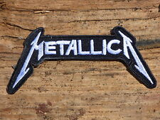 ECUSSON PATCH THERMOCOLLANT aufnaher toppa METALLICA groupe musique /11.4X5.0CM
