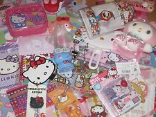 Hello Kitty Kawaii $40 RV Grab Bag/Surprise LOT Bank Plush Stationery Key Cap