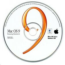 NEW MAC OS 9.2.1 UPDATE CD FOR iMAC eMAC G3 G4 iBOOK POWER BOOK OS 1Z691-3283-A