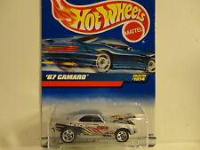 Hot Wheels #1014 Silver Stunt 99 '67 Camaro w/5 Spoke Wheels