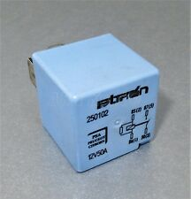523-Fiat Ulysse, C8 & 807 Multi-Use 4-Pin Pale Blue Relay 12V 250102 50A Bitron