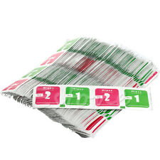 400Pcs LCD LED Screen Camera Lens Phone Dust Dry Wet Cleaning Cloth Paper Wipes