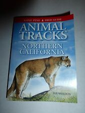 Animal Tracks of Northern California by Ian Sheldon Paperback Book (English) B51