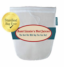 Almond Nut Milk Bag, Stands Up By Itself! Best You Can Buy! Free Shipping in USA