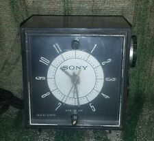 Sony 6 Transistor Radio Cube 6RC-23 Vintage *Alarm hand is Loose*