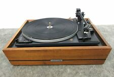 DUAL 1212 Turntable 3-Speed Record Player w/ Shure M44-7 Cartridge Stylus