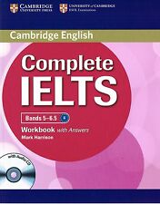 Cambridge English COMPLETE IELTS Bands 5-6.5 WORKBOOK w Answers +Audio CD @New@