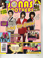 JONAS BROTHERS Pop Star Magazine 6/08  CAMP ROCK