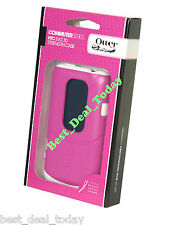 OEM OTTERBOX COMMUTER SHELL CASE COVER FOR HTC EVO 3D SPRINT STRENGTH AVON PINK