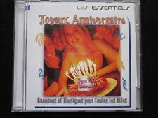 Joyeux anniversaire-Chansons et musiques pour toutes les fetes (CD)