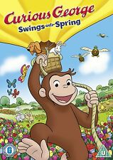 Curious George - Swings Into Spring! (DVD, 2013) Brand new and sealed
