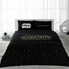 Star Wars Force Awakens Cotton Bedding Duvet Cover Set Double Full/Queen 4 pcs