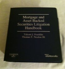 MORTGAGE AND ASSET BACKED SECURITIES LITIGATION HANDBOOK,,2012 MATERIAL