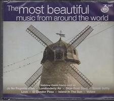 MOST BEAUTIFUL MUSIC FROM AROUND THE WORLD - 3 CD'S -