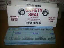 "Safety Seal refills HD Truck 8"" Tire Plugs Heavy Duty Made in USA 30 Repairs"