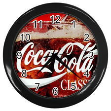 Wall Clock Coca-Cola Classics Ads  - Coke Retro Ads Retro Rare Design!