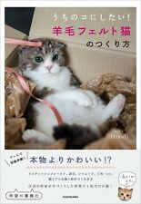 Needle Felt - How to Make Handmade Cats Wool Craft Book - Japanese