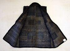 Japanese Antiques- Indigo Boro Sashiko Vest from 19th century