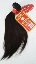 "QTY 3 100% REAL Human Hair Excel Straight Weaving 14"" Bundle 300g #1 EXTENSIONS"