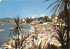 BR2059 Juan les Pins une des plage a l heure du bain   france