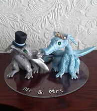 Dragons Polymer Clay Cake Topper - any colour made to order