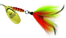 New Mepps Magnum Musky Killer Lure 1 1/4oz Gold Firetiger Tail MBM G-FT