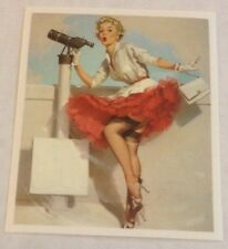 Pegatina/sticker/Autocollant/Adesivo: Vintage/ Pin Up/ Erotic/Lingerie/Blondie
