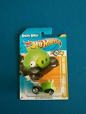 Hot Wheels 2012 New Models Angry Birds Minion Pig htf