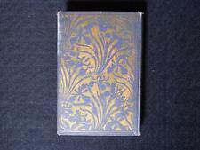 Nice art nouveau Blue and Gold Iris Book - Evangeline Longfellow