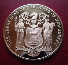 NEW JERSEY - Official Sterling Silver Bicentennial PROOF Medal
