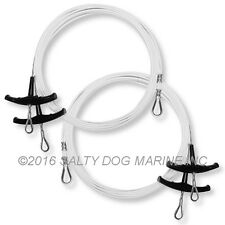 HOBIE CAT 16 TRAPEZE WIRES WHITE (4) - NEW ( #283171 )
