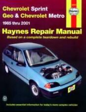 NEW - Chevrolet Sprint & Geo Metro 1985-2001 (Haynes Manuals)