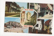 Old Town Hastings 1975 Postcard 082a