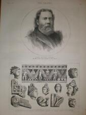 James Russell Lowell US ambassador to UK 1880 print