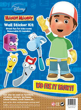 Disney Children's / Kids Wall Stickers - Handy Manny