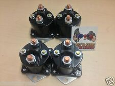FOUR NEW WINCH SOLENOIDS 4-Terminal for WARN 72631, 28396 Solenoid Relay