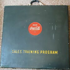 Coca-Cola 1940 SALESMAN's TRAINING KIT RECORDS FILM VERY GOOD CONDITION