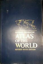 NATIONAL GEOGRAPHIC ATLAS OF THE WORLD 6TH EDITION