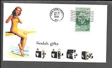 1950s Kodak Cameras Featured on Collector's Envelope *Z212