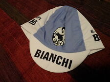 NOS Bianchi Fausto Coppi retro cycling cap bicycle hat