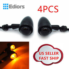 4x Universal Motorcycle Bullet LED Turn Signal Indicators light Brake Front Rear