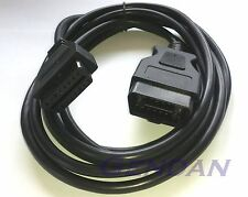 3m / 10 ft OBD-II OBD2 EOBD Car Diagnostic Extension Cable - All 16 pins wired