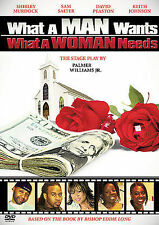 What a Man Wants...What a Woman Needs new DVD Bishop Eddie long & palmer william