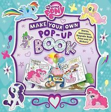 My Little Pony: Make Your Own Pop-Up Book by Hasbro (2016, Hardcover)